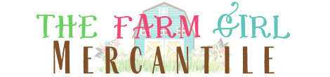 The Farm Girl Mercantile Logo 2