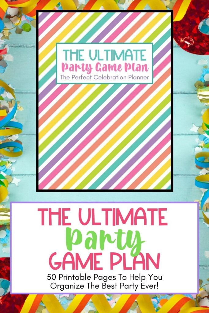 Plan the perfect party. This Ultimate Party Celebration Planner has all the planning pages needed to organize a successful party celebration.