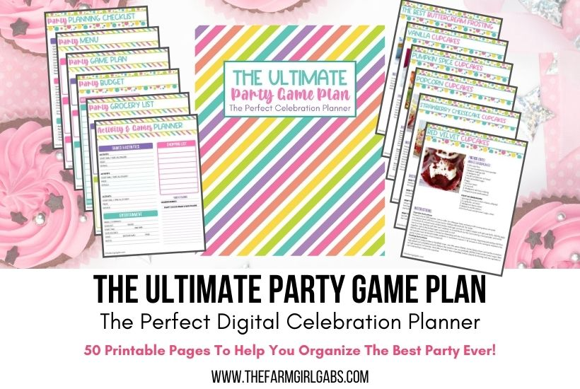 Ultimate Game Plan Party Planner