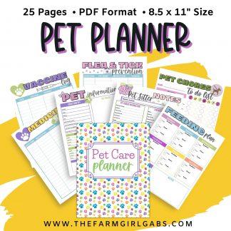 pet planner