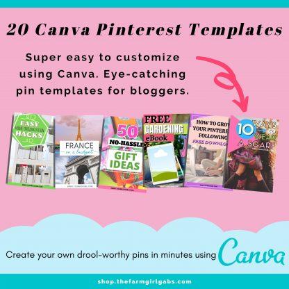 lifestyle canva pin bundle 2