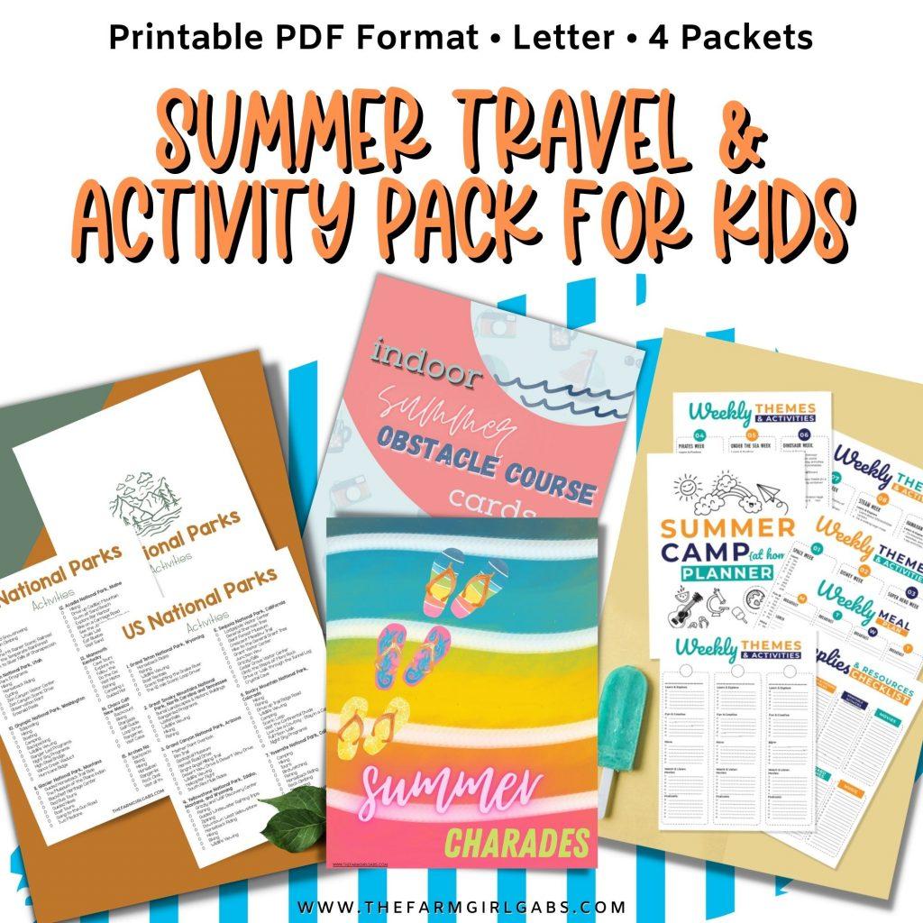 Summer Fun Activity Packet