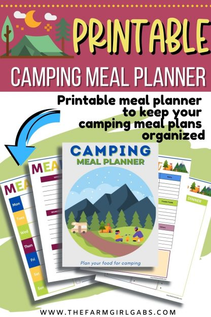 This Printable Camping Meal Planner Bundle will help organize your meals, grocery shopping and cooking needs for your camping trip. This 12-page meal planner will save you time in the kitchen too. This letter-sized Meal Planning Bundle Includes Cover Page Meal Planners Grocery Lists Favorite Recipe Sheets Food Budget Sheet To-Do List Note Page Recipe Card Note: This is a digital product. No physical product will be sent. You will receive a link to download this party planner after your payment is processed. Because this is a digital product, no returns or refunds will be issued. This Meal Planner will easily fit in a 3-ring binder and can be used time and time again. Simply reprint the planning pages you need for each weekly meal plan, or, store extra copies of each page in your binder.
