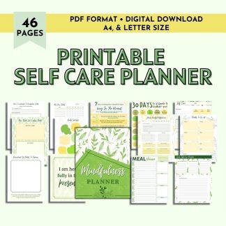 Printable Wellness Planner